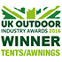UK Outdoor Industry Awards 2016 Winner